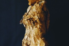 Olivier VALEZY - Geisha – 50 x 120 x 50 cm Sculpture carton