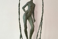 Sidonie LAURENS - Reflet – 73 x 21 x 19 Bronze