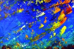 Emma COFFIN - La voie - 55 x 46 cm  Acrylique sur toile