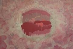 PELLÈ - Piglet Pink – 81 x 100 cm Acrylique sur toile