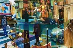 Jacques KEDOCHIM - Solitude – 100 x 80 Huile sur toile