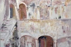 MAÏSSIE - Bellomo palazzo – 65 x 81 cm Huile sur toile