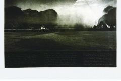 Annie-ROSÈS - Série Apicula : L'île – 65 x 50 cm Héliogravure et Solar plate