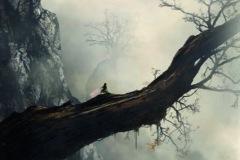 NOMANZLAND - Faery – 60 x 90 cm Peinture digitale