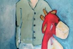 SOKA - Mon Ange – 72 x 97 cm Acrylique sur toile