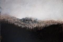 Hélène LEROY - Sans titre ref : 145 – 100 x 100 cm Huile sur toile