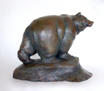 Guetteur-bronze-56-37-47 cm