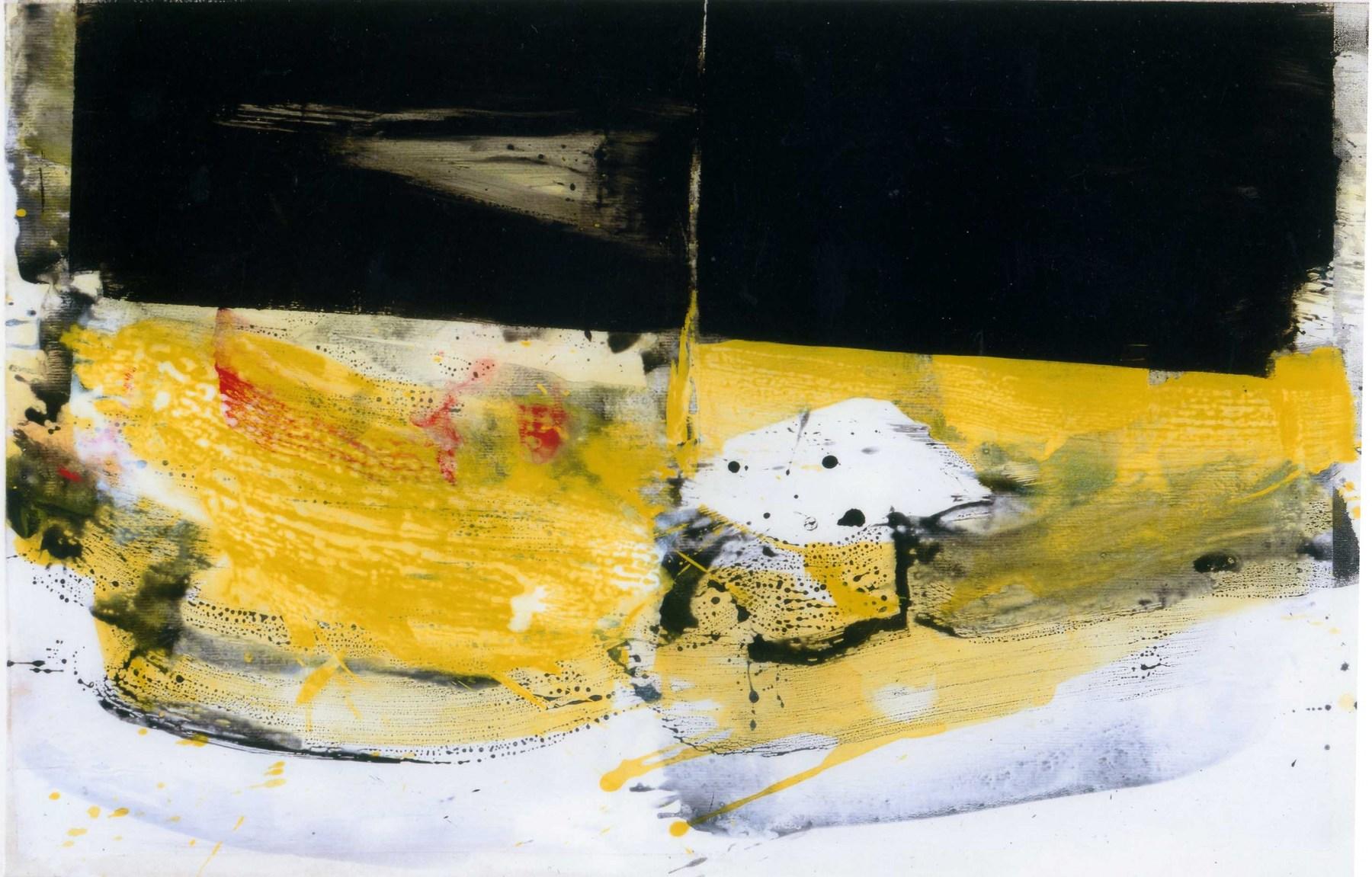 LACOMME-Troides-acrylique-sur-papier-marouflé-sur-toile-n°554-65x100cm-2004